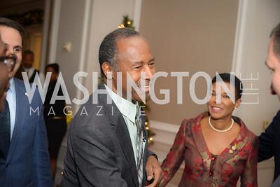 Reception for Jamaican Prime Minister, Ritz Carlton, November 27, 2018.  Photo by Ben Droz.