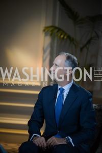 Ambassador Armando Varricchio,  Reception for Jamaican Prime Minister, Ritz Carlton, November 27, 2018.  Photo by Ben Droz.