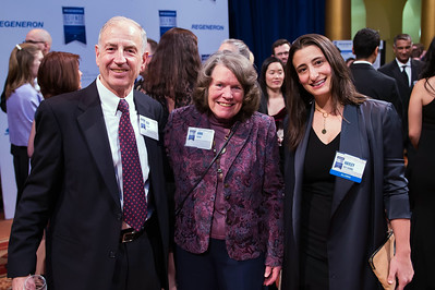 Bob and Anne Shaw with Hayley Bay Barna attend the 2018 Regeneron Science Talent Search - A program at Society of Science and the Public 77th Annual Awards Gala on March 13, 2018.  Photography by Joy Asico