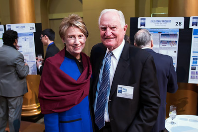 Barbara and Craig Barrett attend the 2018 Regeneron Science Talent Search - A program at Society of Science and the Public 77th Annual Awards Gala on March 13, 2018.  Photography by Joy Asico