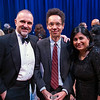 George Yancopoulos, Malcolm Gladwell and Maya Ajmera attend the 2018 Regeneron Science Talent Search - A program at Society of Science and the Public 77th Annual Awards Gala on March 13, 2018.<br /> <br /> Photography by Joy Asico