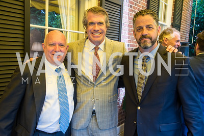 Mark Gompertz, Scott Stewart, Tony Lyons, Robert F. Kennedy, Memorial Tribute, June 6, 2018, photo by Ben Droz.