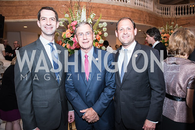 Senator Tom Cotton, Rep. Blaine Luetkemeyer, Rep. Andy Barr,  Roy Pfautch Dinner, In Honour of The Ambassador of Japan, National Museum of Women in the Arts, June 5, 2018. Photo by Ben Droz.