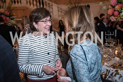Sen. Susan Collins,  Roy Pfautch Dinner, In Honour of The Ambassador of Japan, National Museum of Women in the Arts, June 5, 2018. Photo by Ben Droz.