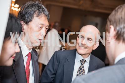 Ambassador James Zumwalt,  Roy Pfautch Dinner, In Honour of The Ambassador of Japan, National Museum of Women in the Arts, June 5, 2018. Photo by Ben Droz.