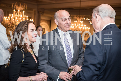 Melissa Moss, Jonathan Silver,  Roy Pfautch Dinner, In Honour of The Ambassador of Japan, National Museum of Women in the Arts, June 5, 2018. Photo by Ben Droz.