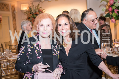 Buffy Cafritz, Melissa Moss,  Roy Pfautch Dinner, In Honour of The Ambassador of Japan, National Museum of Women in the Arts, June 5, 2018. Photo by Ben Droz.