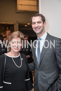Rep. Vicky Hartzler, Sen. Tom Cotton,  Roy Pfautch Dinner, In Honour of The Ambassador of Japan, National Museum of Women in the Arts, June 5, 2018. Photo by Ben Droz.