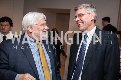 Rep. Kenny Merchant, Rep. Erik Paulsen, Roy Pfautch Dinner, In Honour of The Ambassador of Japan, National Museum of Women in the Arts, June 5, 2018. Photo by Ben Droz.