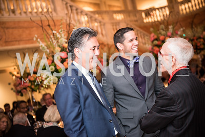 Rep. Mark Takano, Roy Pfautch, Dinner, In Honour of The Ambassador of Japan, National Museum of Women in the Arts, June 5, 2018. Photo by Ben Droz.