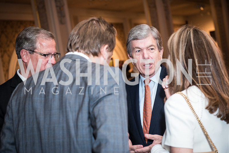 Sen. Roy Blunt,  Roy Pfautch Dinner, In Honour of The Ambassador of Japan, National Museum of Women in the Arts, June 5, 2018. Photo by Ben Droz.