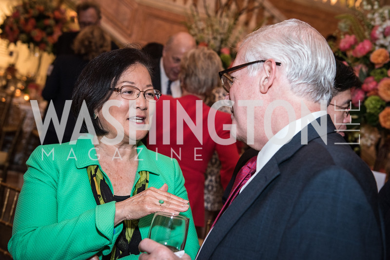 Sen. Mazie Hirono,  Roy Pfautch Dinner, In Honour of The Ambassador of Japan, National Museum of Women in the Arts, June 5, 2018. Photo by Ben Droz.