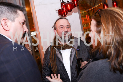 """Bruce Keiloch. Photo by Tony Powell. """"Russian Roulette"""" Book Party. China Chilcano. March 20, 2018"""