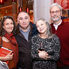 """Martha Weiss, Jose Andres, Mary Noble Ours, Josh Rosenthal. Photo by Tony Powell. """"Russian Roulette"""" Book Party. China Chilcano. March 20, 2018"""