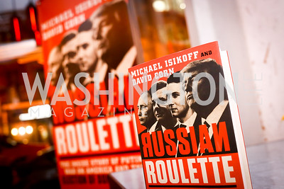 "Photo by Tony Powell. ""Russian Roulette"" Book Party. China Chilcano. March 20, 2018"