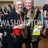 Lucy De Carlo, Barbara Sieg. Photo by Tony Powell. Ruth Buchanan's 100th Birthday Party. Chevy Chase Club. February 22, 2018