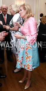 Dede Wilsey. Photo by Tony Powell. Ruth Buchanan's 100th Birthday Party. Chevy Chase Club. February 22, 2018