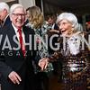 Bob Norris, Jane Smith. Photo by Tony Powell. Ruth Buchanan's 100th Birthday Party. Chevy Chase Club. February 22, 2018