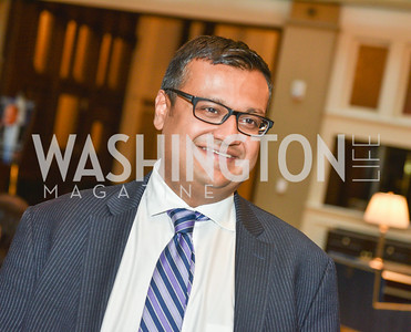 Raj Shaw, Sean Spicer Book Launch, The Briefing, Trump Hotel, July 26, 2018.  Photo by Ben Droz.