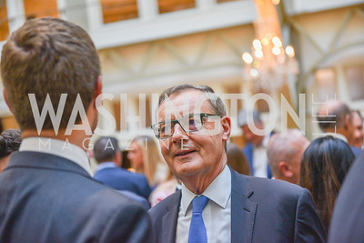David O'Sullivan, Sean Spicer Book Launch, The Briefing, Trump Hotel, July 26, 2018.  Photo by Ben Droz.