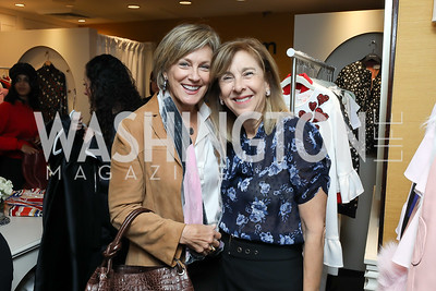 Marcy Cohen, Nancy Taylor Bubes. Photo by Tony Powell. Sem Sem Pop-up. Cafe Milano. October 26, 2018