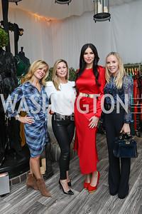 Stacey Lubar, Stephanie Lemer, Amy Baier, Cindy Jones. Photo by Tony Powell. Sem Sem Pop-up. Cafe Milano. October 26, 2018