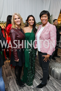 Kellyanne Conway, Abeer Al Otaiba, Mayor Muriel Bowser. Photo by Tony Powell. Sem Sem Pop-up. Cafe Milano. October 26, 2018