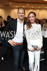 John and Kristin Cecchi. Photo by Tony Powell. Sem Sem Pop-up. Cafe Milano. October 26, 2018