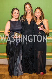 Antoinette Solnik, Rachel Sullivan, Jill Lane, Photo by Alfredo Flores. Sibley Memorial Hospital Foundation's 17th Celebration of Hope & Progress Gala. Andrew W. Mellon Auditorium. March 10, 2018.