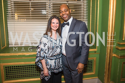 Kathryn Stamps, Terrence Stamps,    Photo by Alfredo Flores. Sibley Memorial Hospital Foundation's 17th Celebration of Hope & Progress Gala. Andrew W. Mellon Auditorium. March 10, 2018..dng