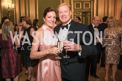 Maureen Elting, Jeffrey Elting,  Photo by Alfredo Flores. Sibley Memorial Hospital Foundation's 17th Celebration of Hope & Progress Gala. Andrew W. Mellon Auditorium. March 10, 2018..dng