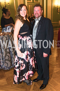 Sarah Newton, Greg Martin, Photo by Alfredo Flores. Sibley Memorial Hospital Foundation's 17th Celebration of Hope & Progress Gala. Andrew W. Mellon Auditorium. March 10, 2018..dng