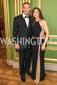 Craig Abele, Jennifer Abele, Photo by Alfredo Flores. Sibley Memorial Hospital Foundation's 17th Celebration of Hope & Progress Gala. Andrew W. Mellon Auditorium. March 10, 2018.
