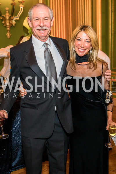 Robert Sher, Amy Dickstein , Photo by Alfredo Flores. Sibley Memorial Hospital Foundation's 17th Celebration of Hope & Progress Gala. Andrew W. Mellon Auditorium. March 10, 2018..dng
