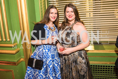 Danielle Reed, Rachel Reed. Photo by Alfredo Flores. Sibley Memorial Hospital Foundation's 17th Celebration of Hope & Progress Gala. Andrew W. Mellon Auditorium. March 10, 2018..dng