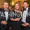 Brian Johnson, Andrea Johnson, Andrew Lerner. Photo by Alfredo Flores. Sibley Memorial Hospital Foundation's 17th Celebration of Hope & Progress Gala. Andrew W. Mellon Auditorium. March 10, 2018.