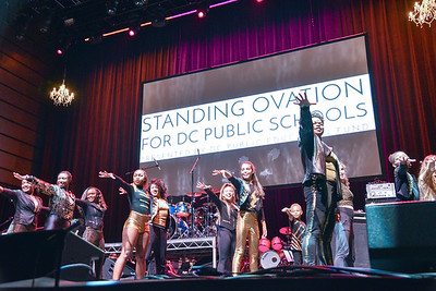 Standing Ovation for DC Public Schools, The Anthem at the Wharf, February 8, 2018. Photo by Ben Droz.