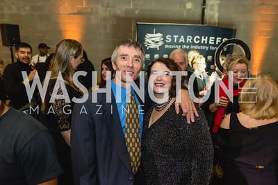 Leann and Bob Cammarata. 2018 StarChefs Tasting Gala & Awards Ceremony. December 11, 2018. Elyse Cosgrove Photography.ARW