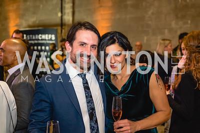 Michael Scaffidi, Elli Benchimol. 2018 StarChefs Tasting Gala & Awards Ceremony. December 11, 2018. Elyse Cosgrove Photography.ARW