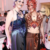 "Rose Ellis, Sophia Constance. Photo by Tony Powell. ""The Art of Burning Man"" Opening. Renwick Gallery. March 29, 2018"