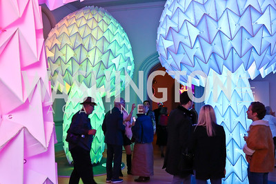 "Photo by Tony Powell. ""The Art of Burning Man"" Opening. Renwick Gallery. March 29, 2018"