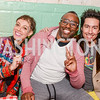 Rose Jaffe, Sheldon Scott, Niko Sommaripa, Transformer's 2nd Annual Heartbreaker's Ball, Comet Ping Pong, February 17, 2018, photo by Ben Droz.