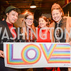 Dawne Langford, Sarah Anderson, Victoria Reis, Lisa Marie Thalhammer, Transformer's 2nd Annual Heartbreaker's Ball, Comet Ping Pong, February 17, 2018, photo by Ben Droz.