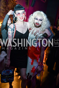 Salvadora Dali, Jane Saw, W Hotel Presents, Kate Warren Photography, Banshees & Queens, March 8, 2018, Photo by Ben Droz.