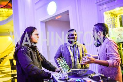 Peter Chang, Brandon Hill, DJ 2-Tone,  W Hotel Presents, Kate Warren Photography, Banshees & Queens, March 8, 2018, Photo by Ben Droz.