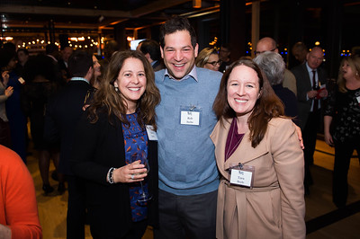 Anna and Rob Sachs, Tara Boyle. WAMU 1A celebrates their 1st Anniversary at District Winery on February 6, 2018. Photography by Joy Asico