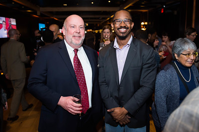 Mark Costley, Joshua Johnson. WAMU 1A celebrates their 1st Anniversary at District Winery on February 6, 2018. Photography by Joy Asico