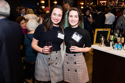 Anne-Marie Boisseau, Ashley O'Sullivan. WAMU 1A celebrates their 1st Anniversary at District Winery on February 6, 2018. Photography by Joy Asico