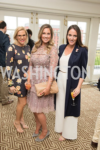 LaRonda Burley, Lindsay Walters, Sarah Flaherty,  WHCD Weekend, Thomson Reuters Brunch, Hay Adams, Apri 29, 2018. Photo by Ben Droz.
