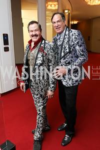 "Jose-Alberto Ucles and Tom Knoll. Photo by Tony Powell. WNO ""La Traviata"" Opening Night. Kennedy Center. October 6, 2018"
